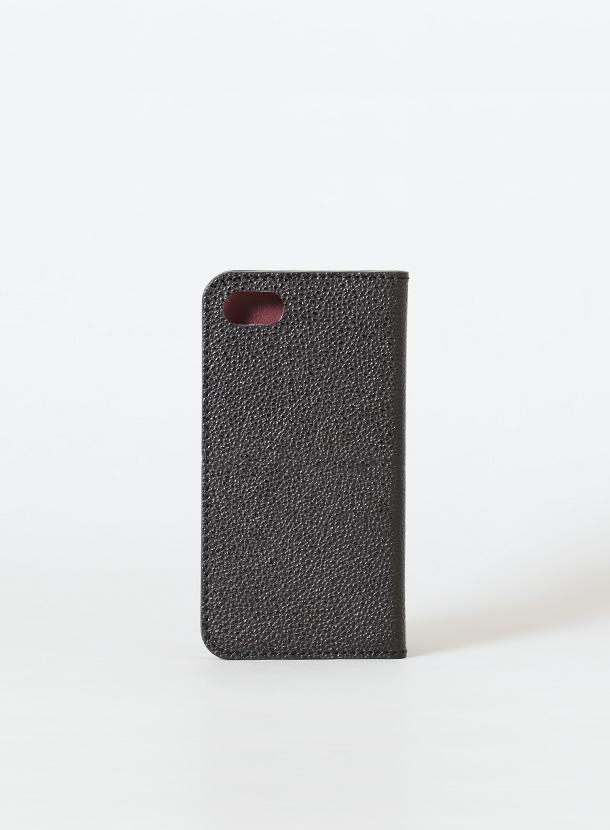 iPhone新SE対応ケース 手帳型(仕切りなしタイプ)カシュー漆レザー