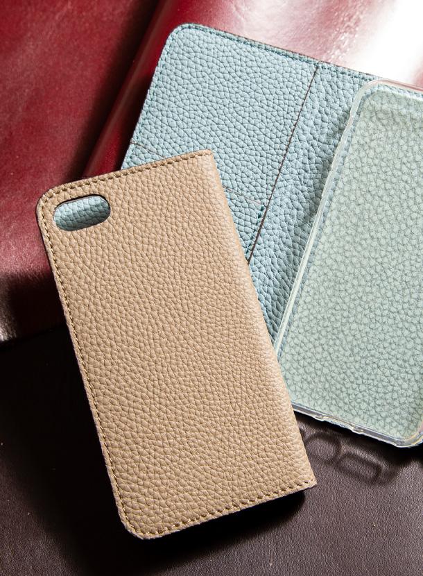 iPhone新SE対応ケース(仕切り追加)手帳型 シュランケンカーフ