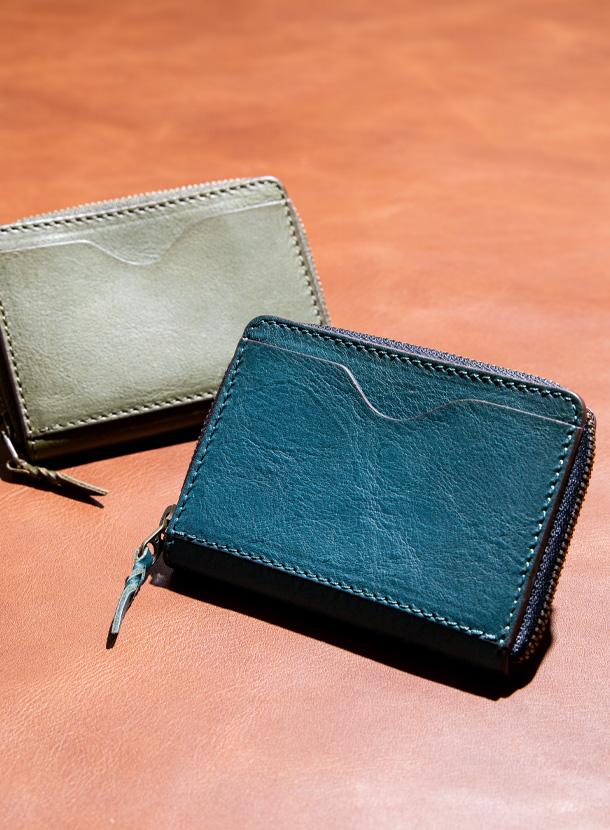 コインケース 角型(外ポケット付き)ミネルバボックス
