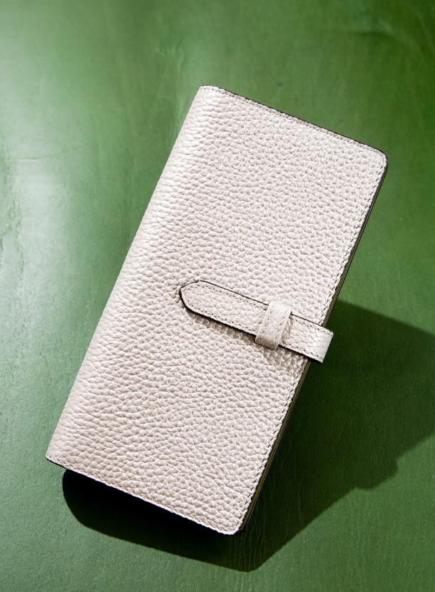 長財布(15mm幅差し込みベルト コインマチ付き 後ろ仕切りタイプ)