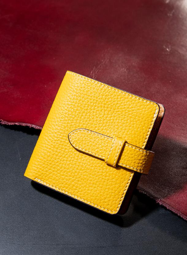 二つ折り財布 縦型(差し込みベルトタイプ)